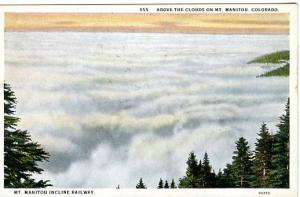 CO - Mt. Manitou, Above the Clouds, Incline Railway