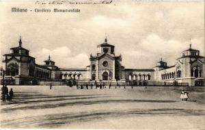 CPA MILANO. Cimitero Monumentale. ITALY (522121)