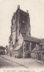 SAINT-OMER, France,1910-1920s, L'Eglise Saint-Denis
