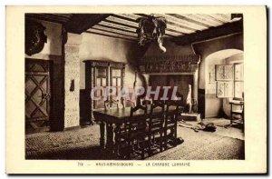 Postcard Old Hochk?nigsburg The room Lorraine