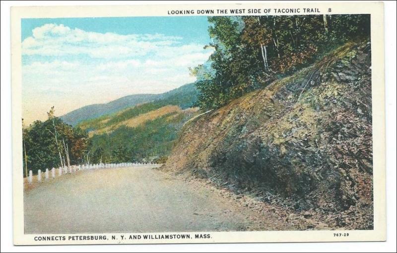 Taconic Trail, Petersburg NY - Williamstown Mass