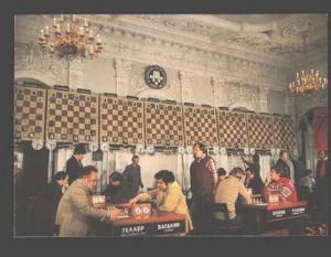 085057 USSR CHESS world champion Geller & Vaganyan Old PC