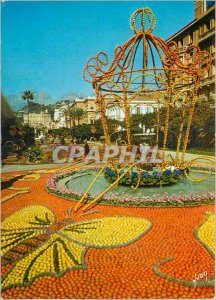 Modern Postcard The French Riviera miracle of nature Menton Alpes Maritimes L...