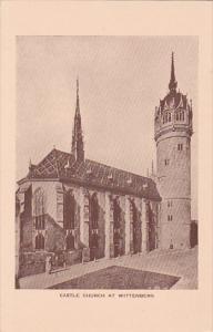 WITTENBERG, Saxony-Anhalt, Germany; Castle Church, 10-20s