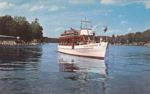 LAKE SUNAPEE, New Hampshire, 1940-1960's; M.V. Mt. Sunapee II