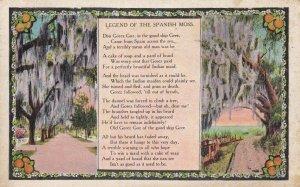 Legend of the Spanish Moss, Rhyme, PU-1932