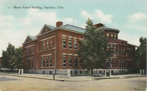 HAMILTON, Ohio, PU-1909; Miami School Building