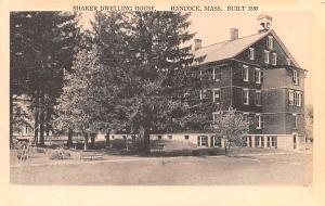 Shaker Postcards Old Vintage Antique Post Cards Dwelling House built 1830 1938