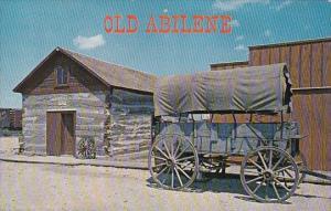 Kansas Abilene Greetings From Old Abilene