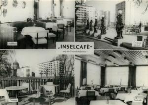 Germany DDR Inselcafe auf der Freundschaftsinsel multi view