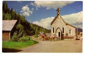 Stagecoach, Barkerville, British Columbia, Church