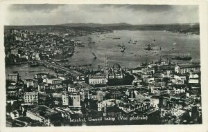 Turkey Istanbul real photo postcard