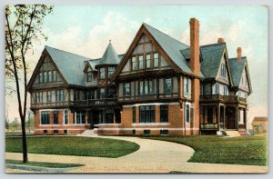 Fairhaven MA~Turret & Dormer Middle~Gingerbread Style Tabatha Inn~Circle Dr 1910