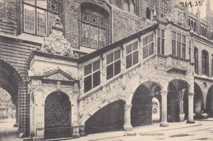 Rathaustreppe, LUBECK (Schleswig-Holstein), Germany, 1900-1910s