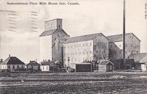 MOOSE JAW , Saskatchewan , Canada , 1912 ; Saskatchewan Flour Mills