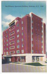 South Carolina Anderson Wilmary Apartment Building