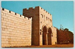 Eureka Springs Arkansas~New Holy Land Entrance Gate~Penn Castle~Battlements~1964