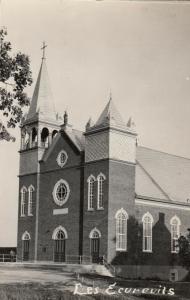 RP: Church , LES EOUREUILS , P.Q., Canada, 1946