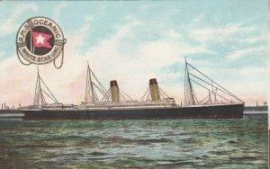 White Star Ocean Liner R.M.S. OCEANIC , 00-10s