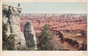 Arizona Grand Canyon VIew From Grand View Point 1909 Detroit Publishing