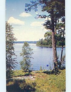 Pre-1980 CAMP SCENE Vermilion Bay In Machin - Kenora Ontario ON c3871