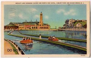 Wesley Lake Casino & North End Hotel, Asbury Park NJ