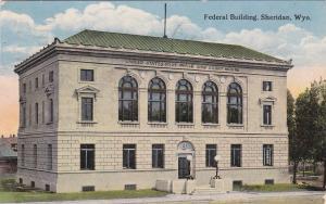 SHERIDAN, Wyoming, PU-1915; Federal Building