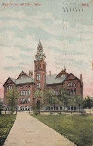 AKRON , Ohio, 1908 ;  High School