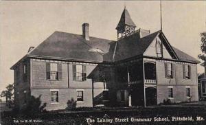 Maine Pittsfield The Lancey Street Grammar School