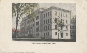 SPRINGFIELD , Massachusetts , 1901-07 ;  High School