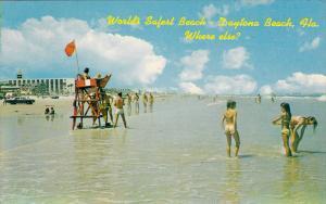 Worlds Safest Beach, Lifeguard, Swimming, Daytona Beach, Florida, United Stat...
