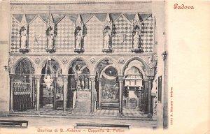 Basilica di S Antonio Padova Italy Unused