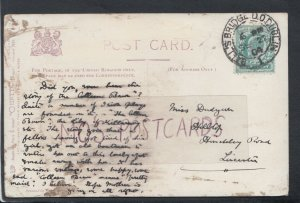 Family History Postcard - Dudy??? - Hilltop, Hinckley Road,Leicester RF4535