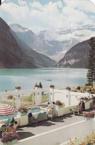 Swimming Pool , Chateau Lake Louise , Alberta  , Canada , 50-60s