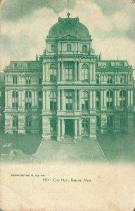 USA City Hall Boston Massachusetts 04.32
