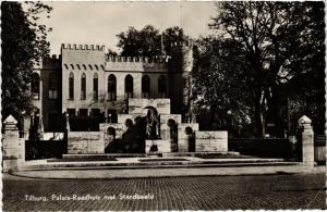 CPA Tilburg Paleis-Raadhuis met Standbeeld NETHERLANDS (728558)