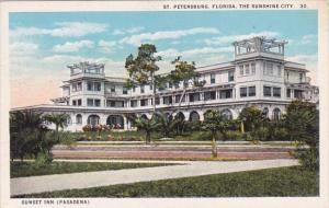 Florida Saint Petersburg The Sunshine City Sunset Inn