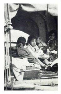 Nostalgia Postcard Gypsy Children 1939 Reproduction Card NS24