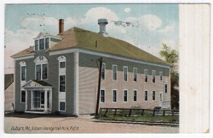 Auburn, Me, Auburn Grange Hall No. 4 P of H