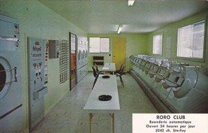Laundry Mat Interior , Roro Club, Centre d'Achats de la Colline , Quebec , Ca...