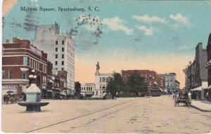 Morgan Square , Spartanburg , South Carolina , PU-1915