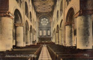 WALTHAM ABBEY , Essex , England , 00-10s ; Interior