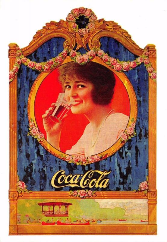 Postcard Drink Coca-Cola 1922 Advert Reproduction Card No.2402