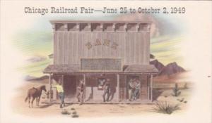 Illinois Chicago Railroad Fair 25 June to 2 October 1949