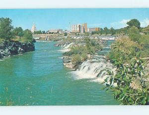 Unused Pre-1980 HOSPITAL SCENE Idaho Falls Idaho ID J9194