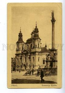 131826 Czech Republic PRAGUE Russian Church & ADVERTISING Old