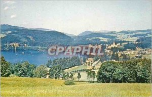 Modern Postcard Titisee View