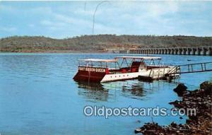 Fort Gibson Lake Eastern Oklahoma USA Ship Postcard Post Card Eastern Oklahom...