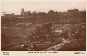 RP: TODMORDEN , Yorkshire , England , 1910s ; Cross Stone Church