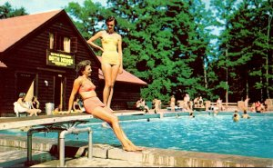 West Virginia Pocahontas County Watoga State Park Swimming Pool